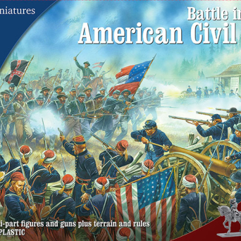 American Civil War Battle set