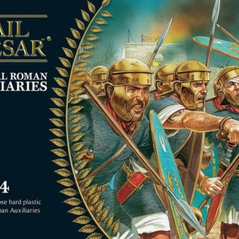 Imperial Roman Auxiliaries (20 plastic + 4 metal command)