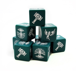Forces of Order Dice (8)