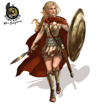 Alexandra of Macedon (54 mm)