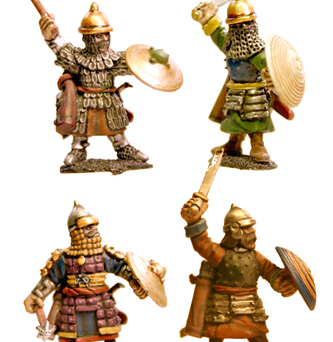 Dismounted Timurid Cavalry (Hand Weapons)