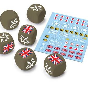 U.K. Dice and Decals