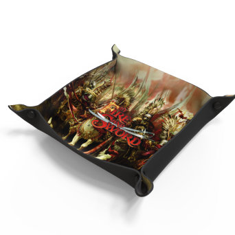 By Fire and Sword dice tray