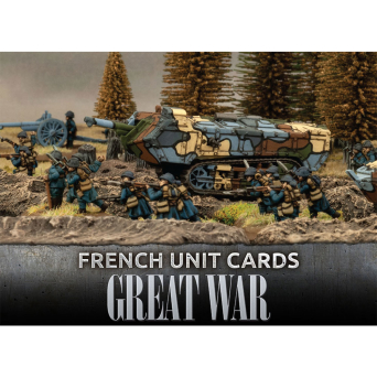 Great War – French Unit Cards