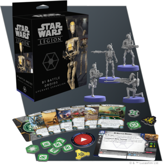 SW Legion: B1 Battle Droids Upgrade Expansion