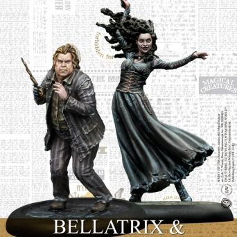 BELLATRIX & WORMTAIL (HPM)