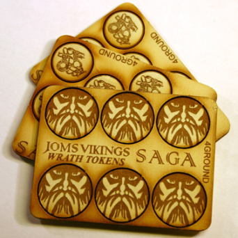 MDF Markers - Jomsviking Set