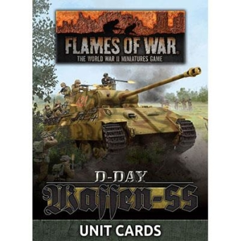 Waffen-SS Unit Card Pack