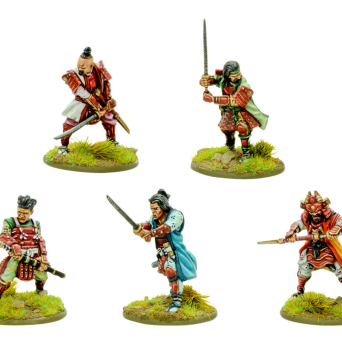 Warlords of Erehwon: Daimyo & retinue