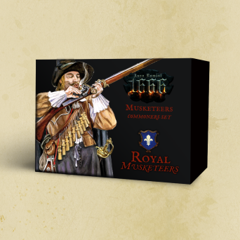 Anno Domini 1666 - Musketeers (metal miniatures) [English]