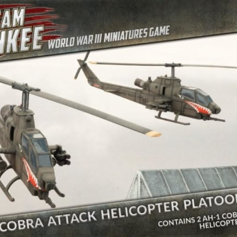 Cobra Attack Helicopter Platoon (Plastic) PL