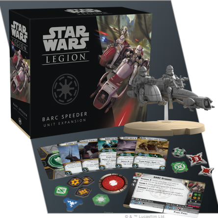 SW Legion: BARC Speeder Unit Expansion