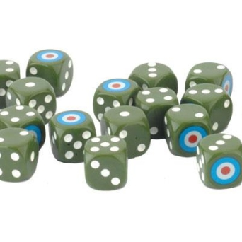 D-Day British Late War Dice