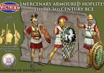 Mercenary Armoured Hoplites 5th to 3rd Century BCE
