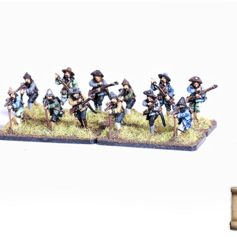 Old type mercenary infantry - musketeers
