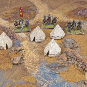 TER-27 Eastern style military tents 1