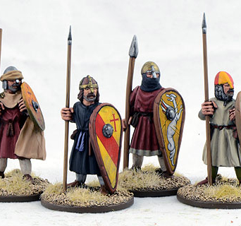 Dismounted Spanish Sergeants Three (4)