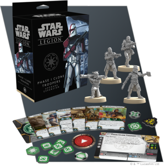 SW Legion: Phase I Clone Troopers Upgrade Expansion
