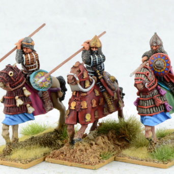 Sassanid Cataphracts, Kontos Levelled