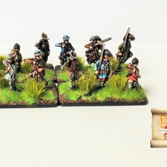 New type mercenary infantry - musketeers