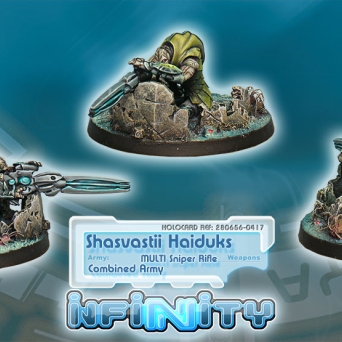 Shasvastii Light Support Unit Haiduk (Sniper)