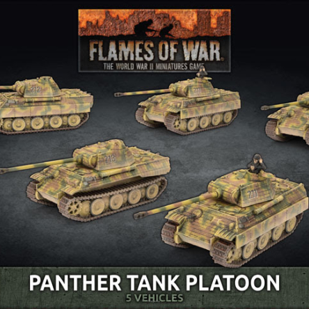 Panther A Tank Platoon (plastic)