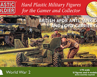 1/72nd 6 pdr and Lloyd carrier
