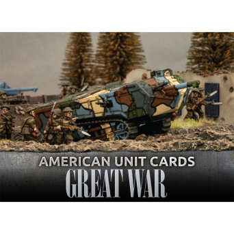 Great War – American Unit Cards