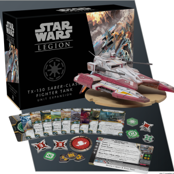 SW Legion: TX-130 Saber-class Fighter Tank Unit Expansion