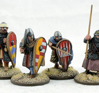 Dismounted Spanish Knights Three (4)