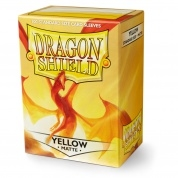 Koszulki na karty Dragon Shield - Matte Yellow 100szt