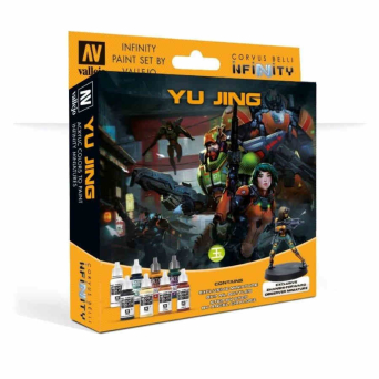 MODEL COLOR SET: INFINITY YU JING EXCLUSIVE MINIATURE