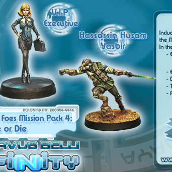 Dire Foes Mission Pack 4: Flee or Die
