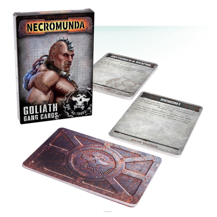 GOLIATH GANG CARDS (ENG)
