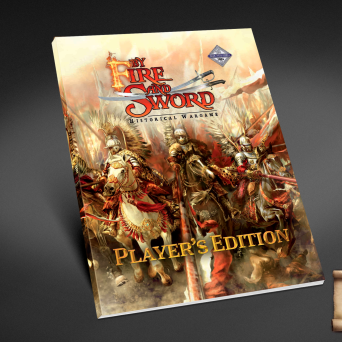 By Fire and Sword rulebook. Player's edition.