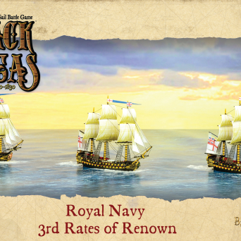 Royal Navy 3rd Rates of Renown