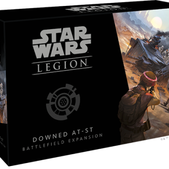 SW Legion: Downed AT-ST Battlefield Expansion