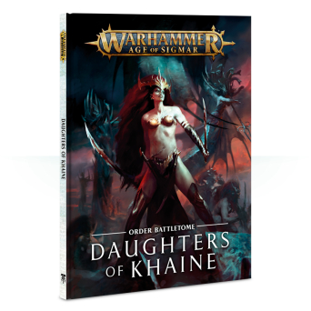 BATTLETOME: DAUGHTERS OF KHAINE (HB) ENG