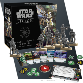 SW Legion: Phase II Clone Troopers Unit Expansion
