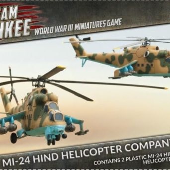 Mi-24 Hind Helicopter Company (Plastic) PL