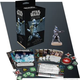 SW Legion: Clone Captain Rex Commander Expansion