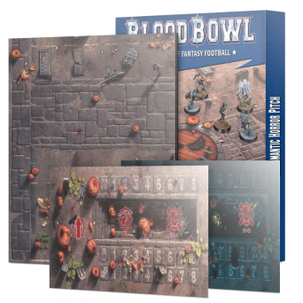 BLOOD BOWL NECROMANTIC TEAM PITCH