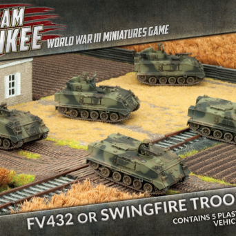 FV432 APC or Swingfire Troop (x5) (Plastic)
