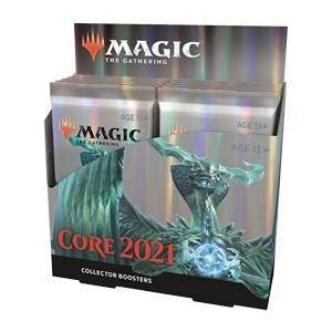 Collector Booster Box Magic Core Set 2021