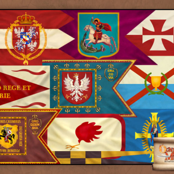 FLAG-POL Banners of Polish Commonwealth