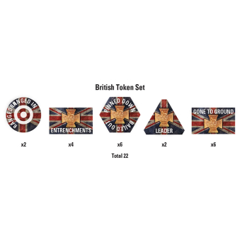 Great War – British Token Set