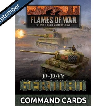FW263C D-Day: German Command Cards