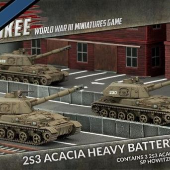 2S3 Acacia Heavy SP Howitzer Battery