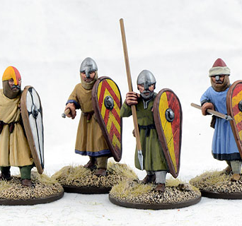 Dismounted Spanish Sergeants Four (4)
