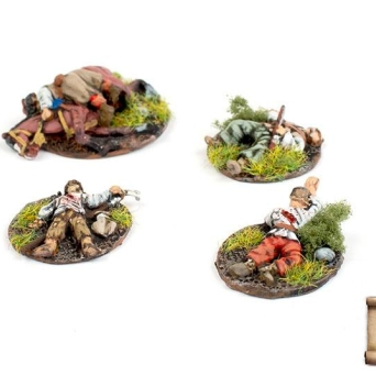 AKC-16 Cossack casualty markers